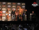 UFC 120 weigh-in travis browne and cheick kongo