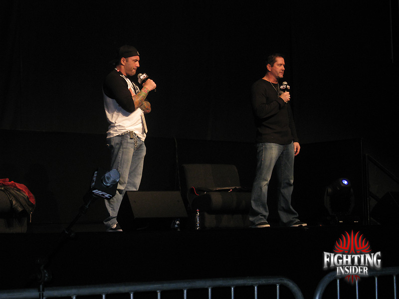 UFC Fan Expo London 2010 joe rogan and mike goldberg