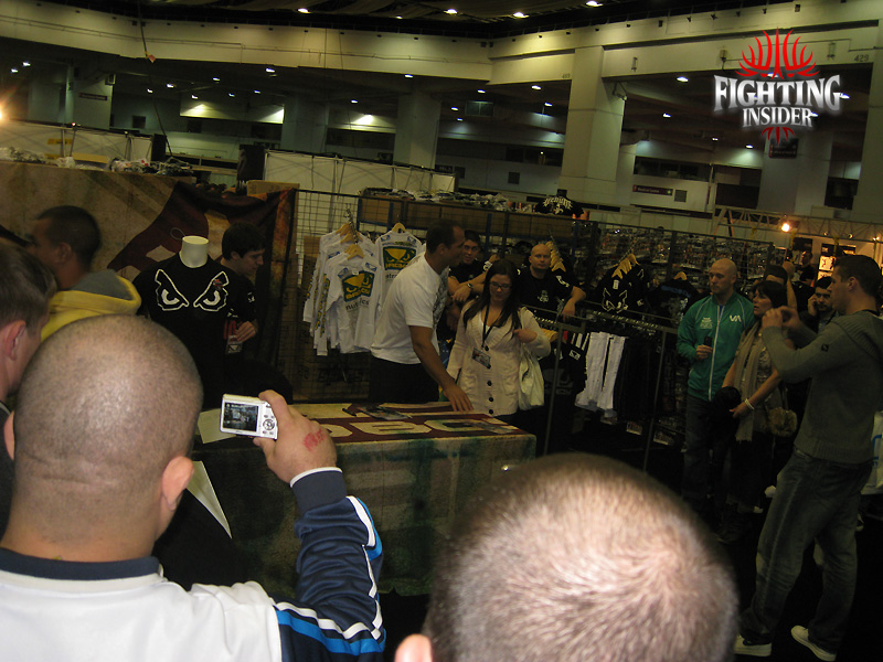 UFC Fan Expo London 2010 junior dos santos 1