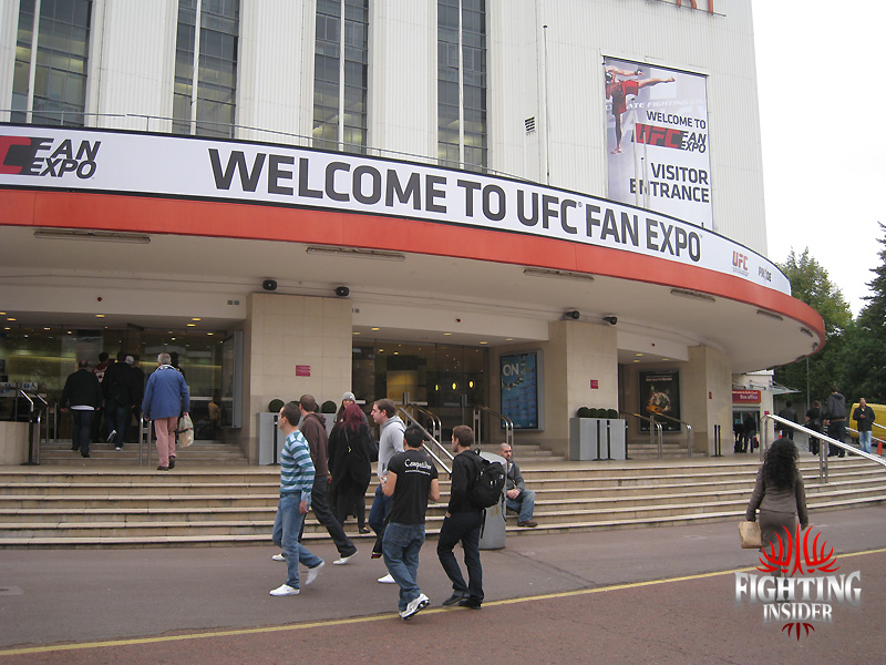 UFC Fan Expo London Cctober 2010