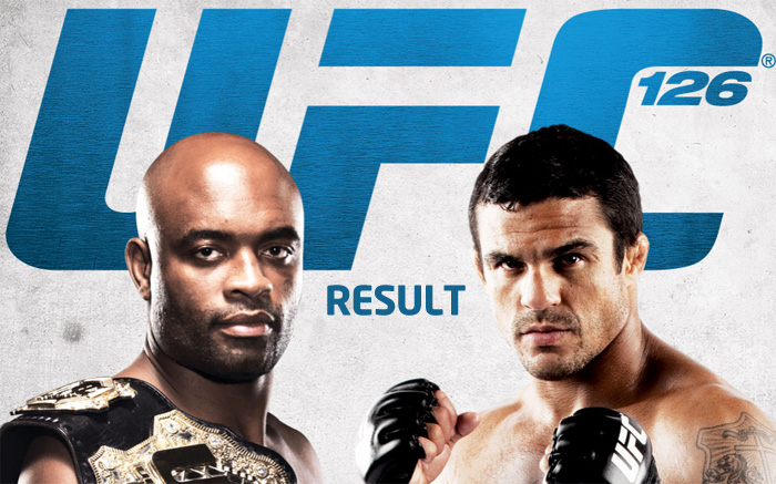ufc 126 result Ufc How Much Money