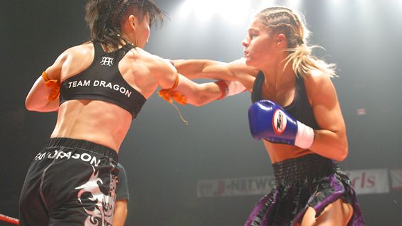 mma fight women