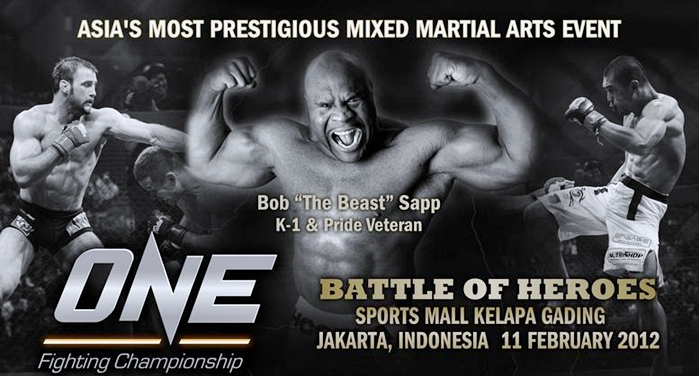 "Official Main Card Set for ""ONE FC: Battle of Heroes"" Event ..."